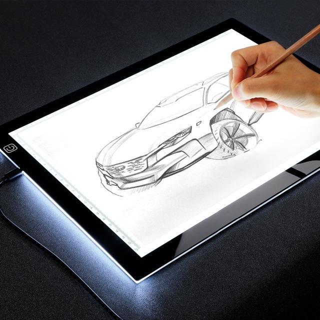 640x640 A4 Led Light Drawing Board Tracer Calibration Led Art Craft Led