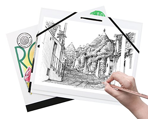 500x400 Unigift Waterproof Color Cover Clip Sketch Paper Drawing Board