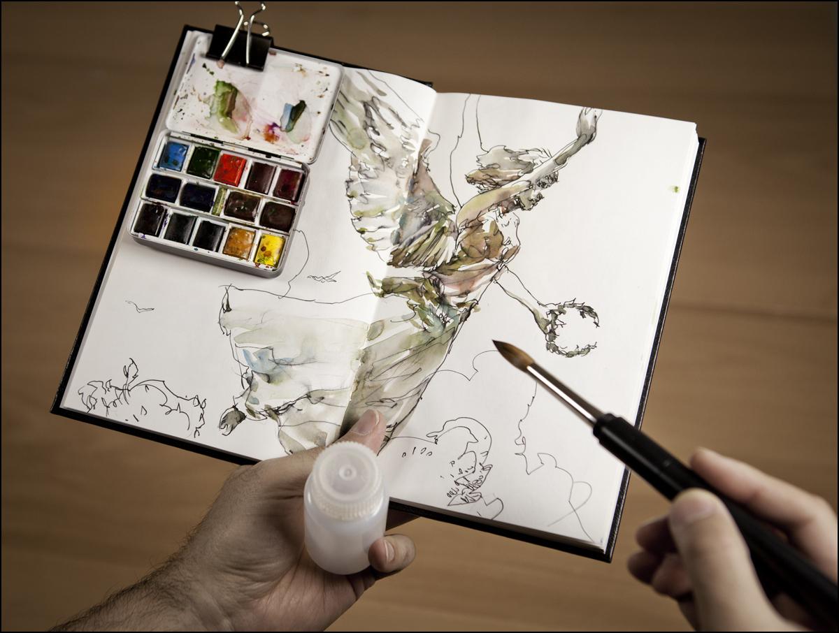 1200x906 Watercolor Supplies List Citizen Sketcher