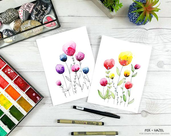 600x480 Easy Watercolor Painting Tumblr Easy Watercolor Painting