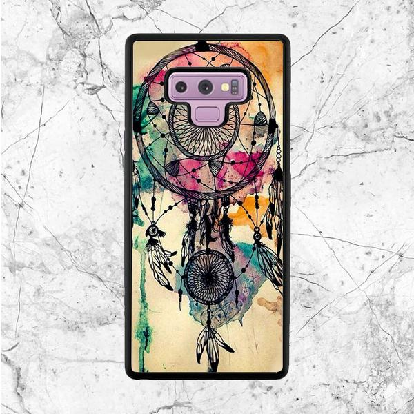 600x600 Watercolor Dream Catcher Samsung Galaxy Note 9 Case Sixtyninecase