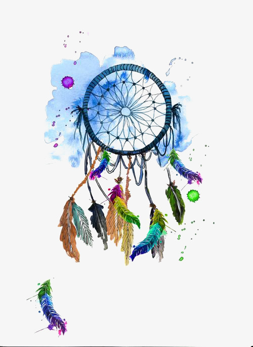 500x685 Watercolor Dreamcatcher Png Images Vectors And Psd Files Free