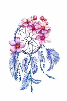 236x354 Dream Catcher (Dreamcatcher) With Feathers, Autumn Leaves And