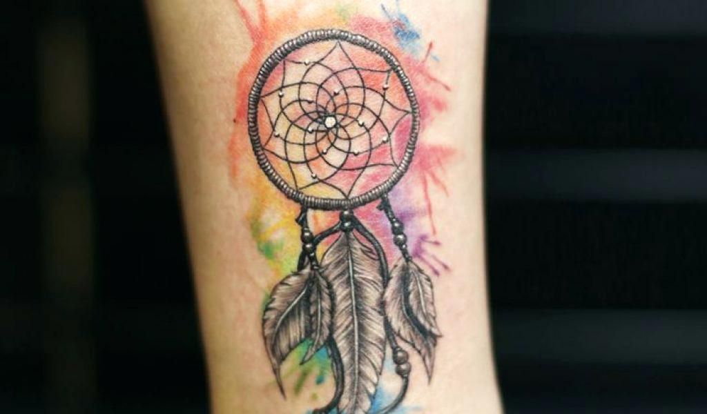 Watercolor Dreamcatcher Tattoo At Getdrawingscom Free For