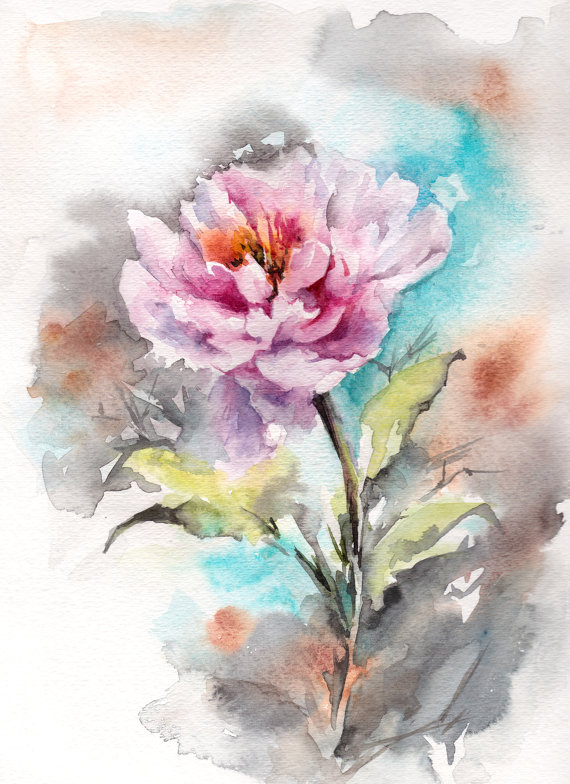570x784 Learn The Basic Watercolor Painting Techniques For Beginners