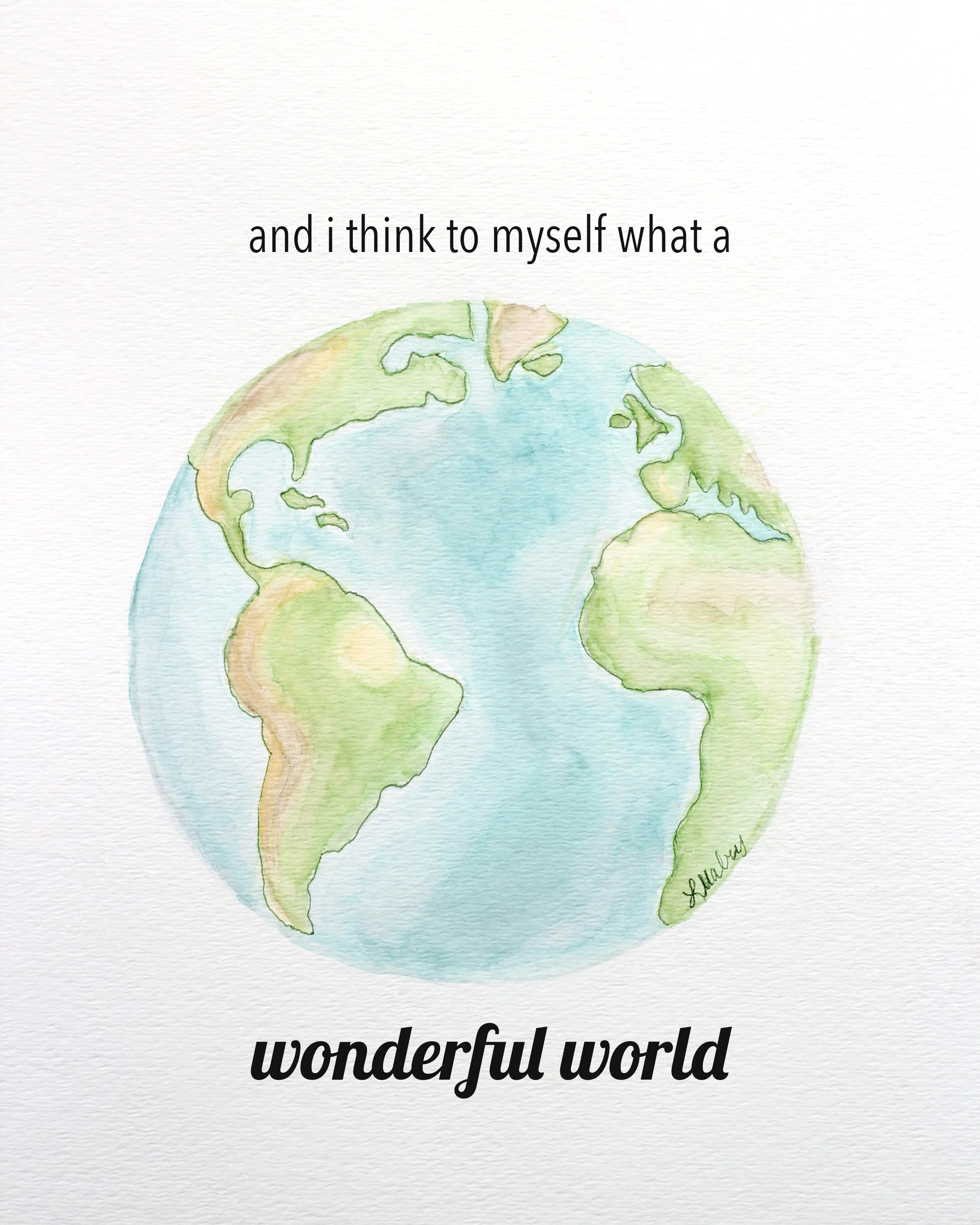 2400x3000 Watercolor Earth Printables Mabey She Made It