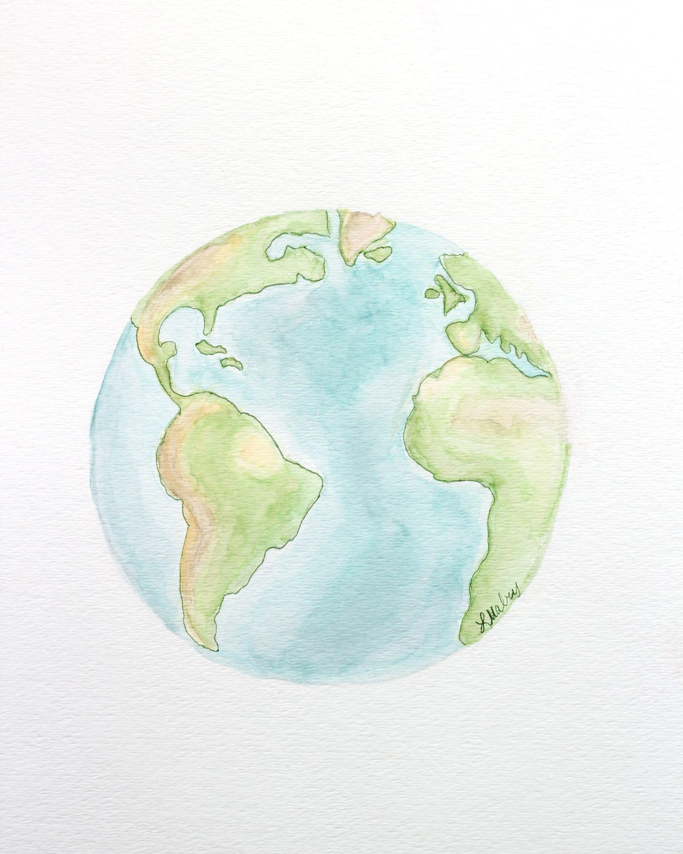 2400x3000 Watercolor Earth Printables In 2018 Printables