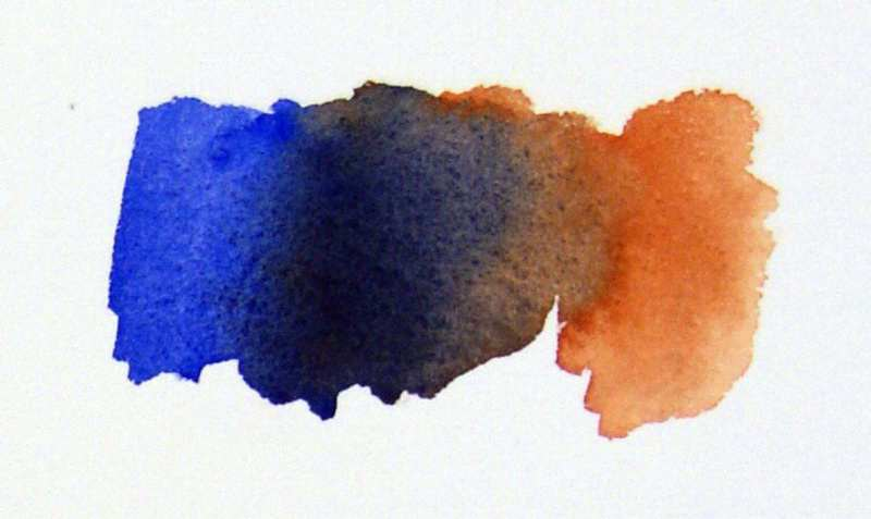 800x477 Earth Watercolors And Color Mixing.watercolor Painting