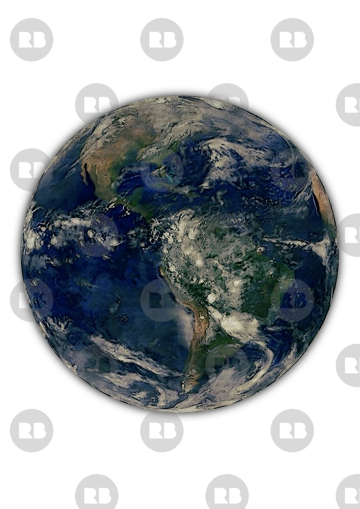 707x1000 Earth Watercolour Watercolor Blue Marble Space Planet Earth Solar