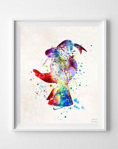 236x298 Frozen Watercolor, Elsa Art, Elsa Poster, Disney Poster, Elsa