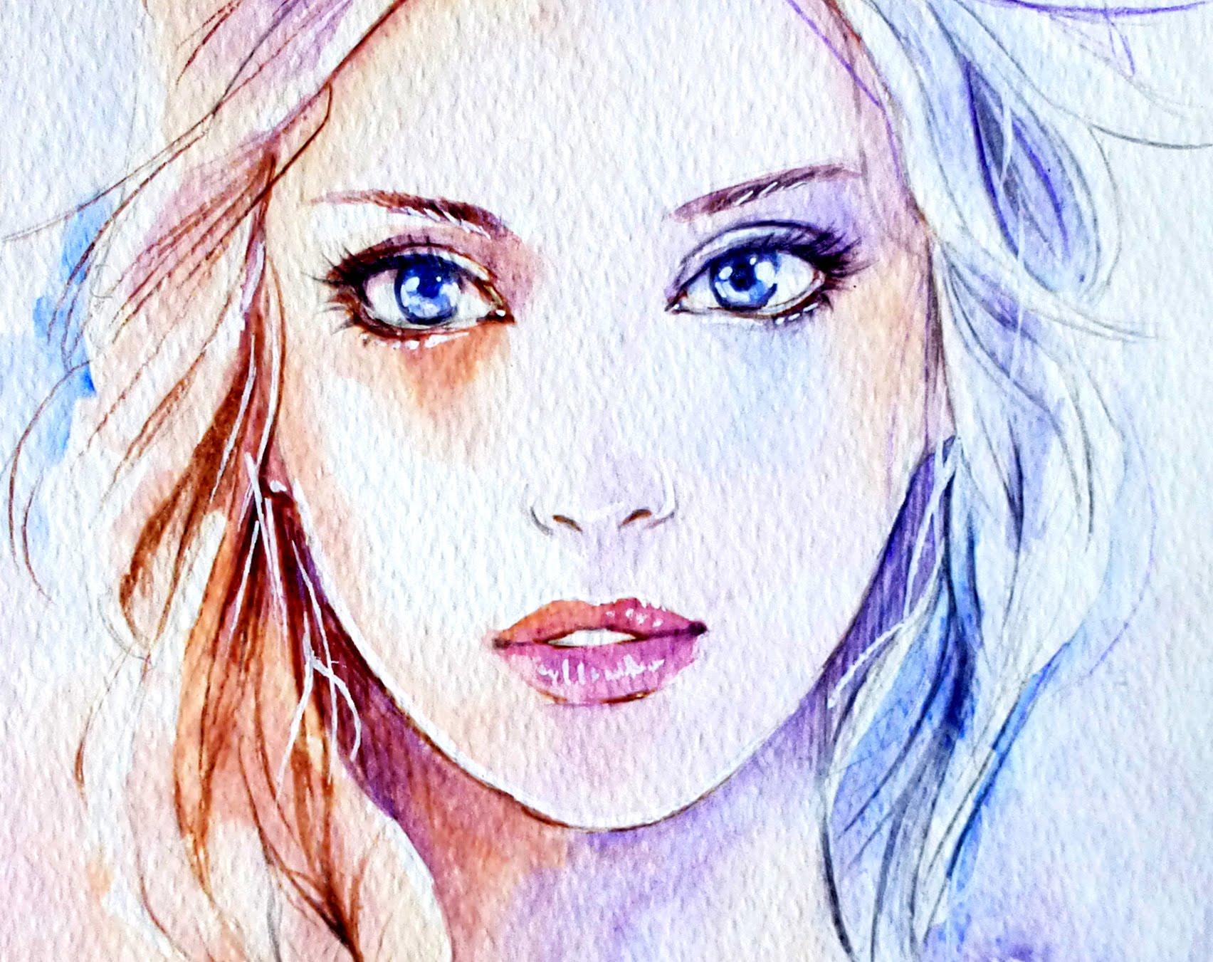 1704x1351 Realistic Elsa Portrait