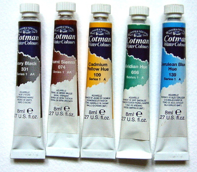 400x349 Learn To Paint With Watercolours Watercolour Equipment Free