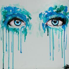 Watercolor Eye Painting
