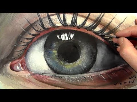 480x360 How To Paint Eye In Watercolour