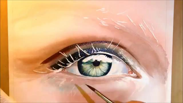 640x360 How To Paint A Realistic Eye