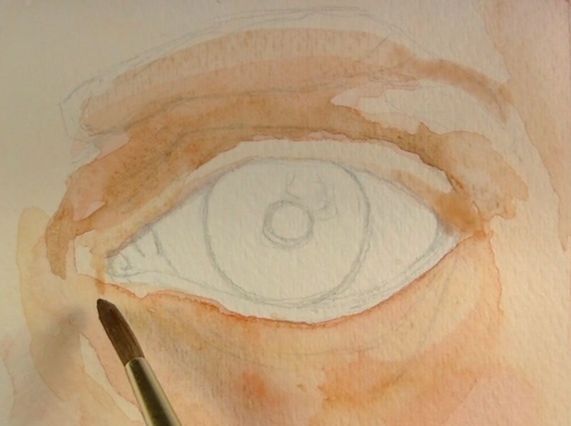 800x597 How To Paint An Eye With Watercolor