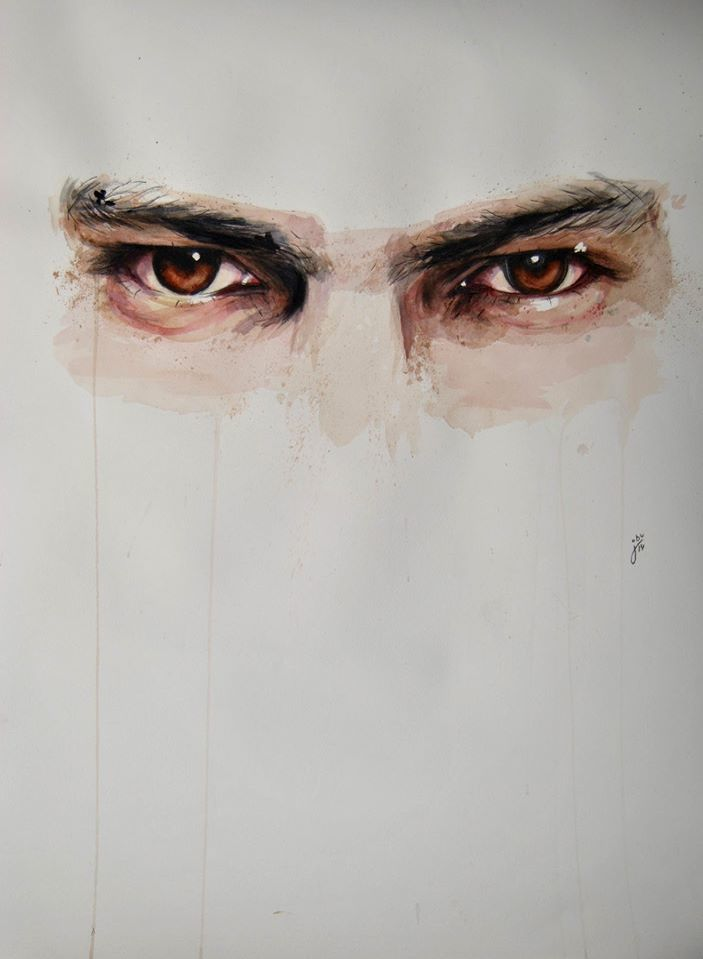 703x959 Expressive Watercolor Eye Paintings By Jone Bengoa Designwrld