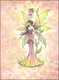 Watercolor Fairy