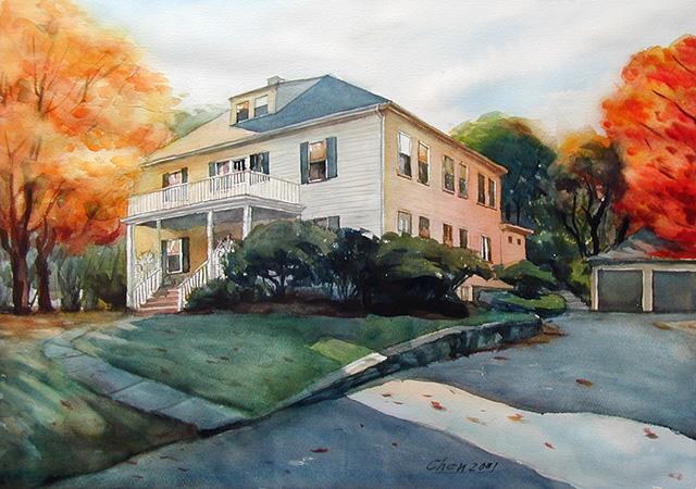 640x450 Landscape Watercolor Paintings