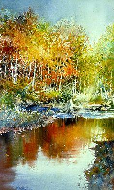 236x392 342 Best Watercolor Landscape Amp Building Images