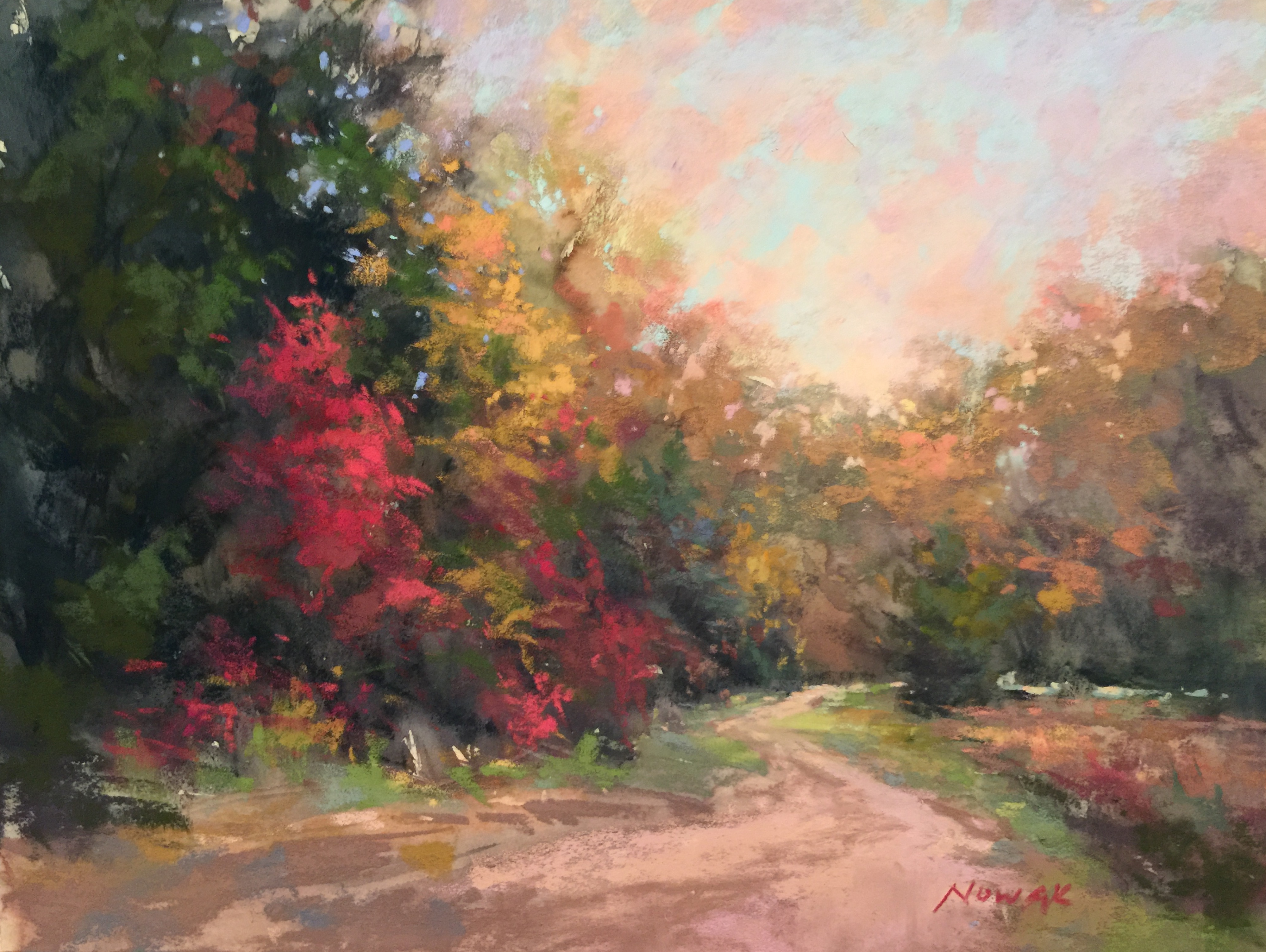 4000x3007 Painting Autumn Foliage