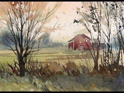 480x360 Painting A Fall Landscape In Watercolor With Susan Avis Murphy