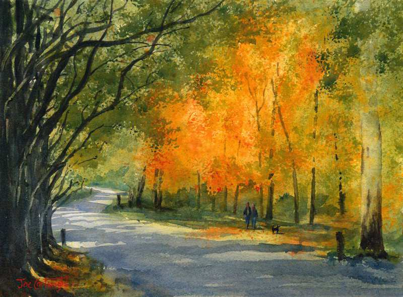 800x590 Watercolor Paintings Landscape Gallery