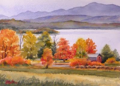 400x287 Zeh Original Art Blog Watercolor And Oil Paintings Autumn