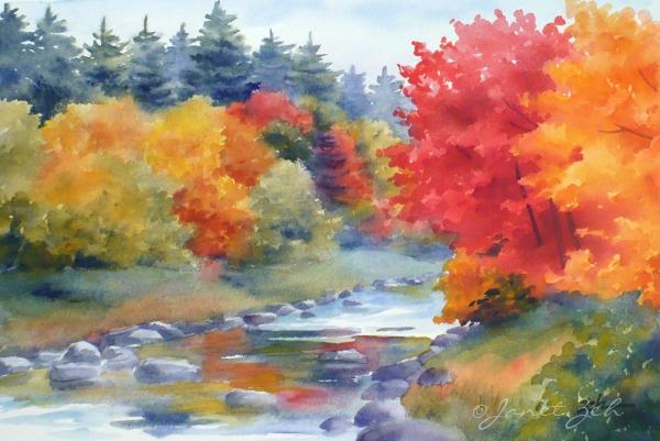 600x401 Zeh Original Art Blog Watercolor And Oil Paintings Autumn Glory