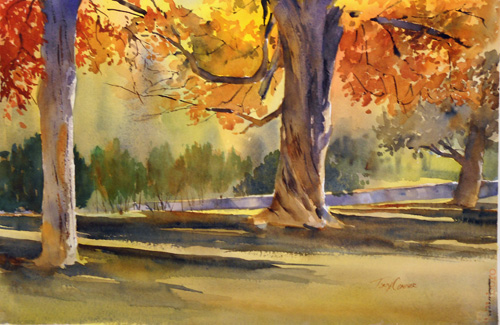 500x325 Watercolor Painting Tony Conner Artists Blog