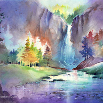 354x354 Best Fall Landscape Paintings Products On Wanelo