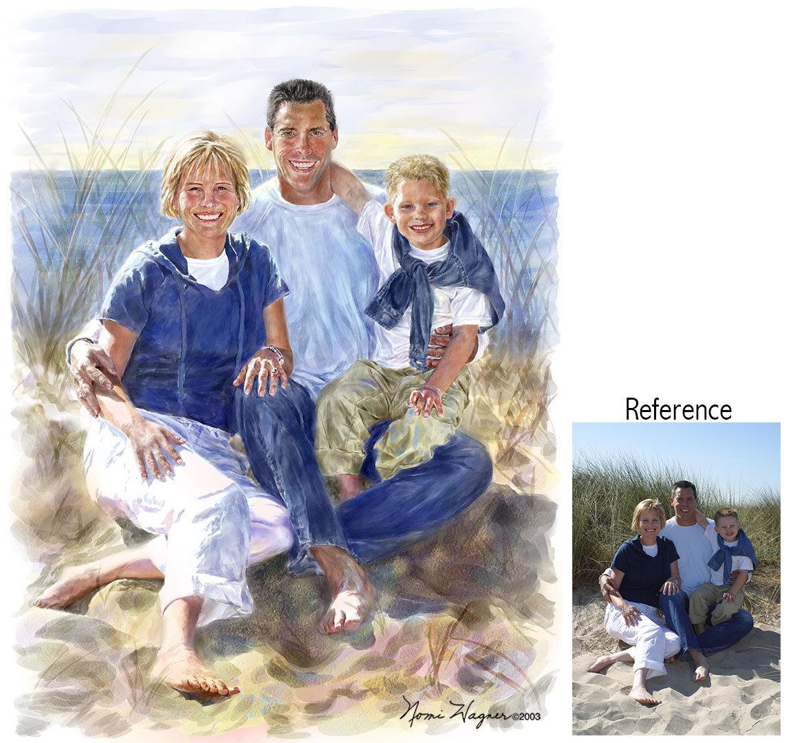 1153x1080 Family Portrait Painting, Watercolor Portrait, Painting Portraits
