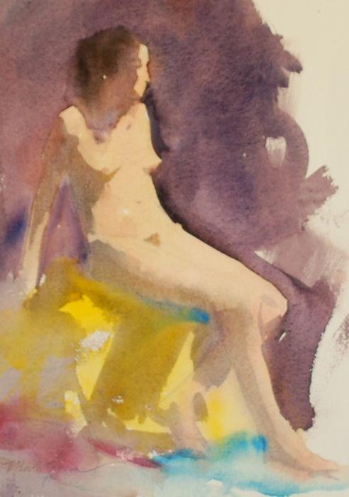 Watercolor Figure