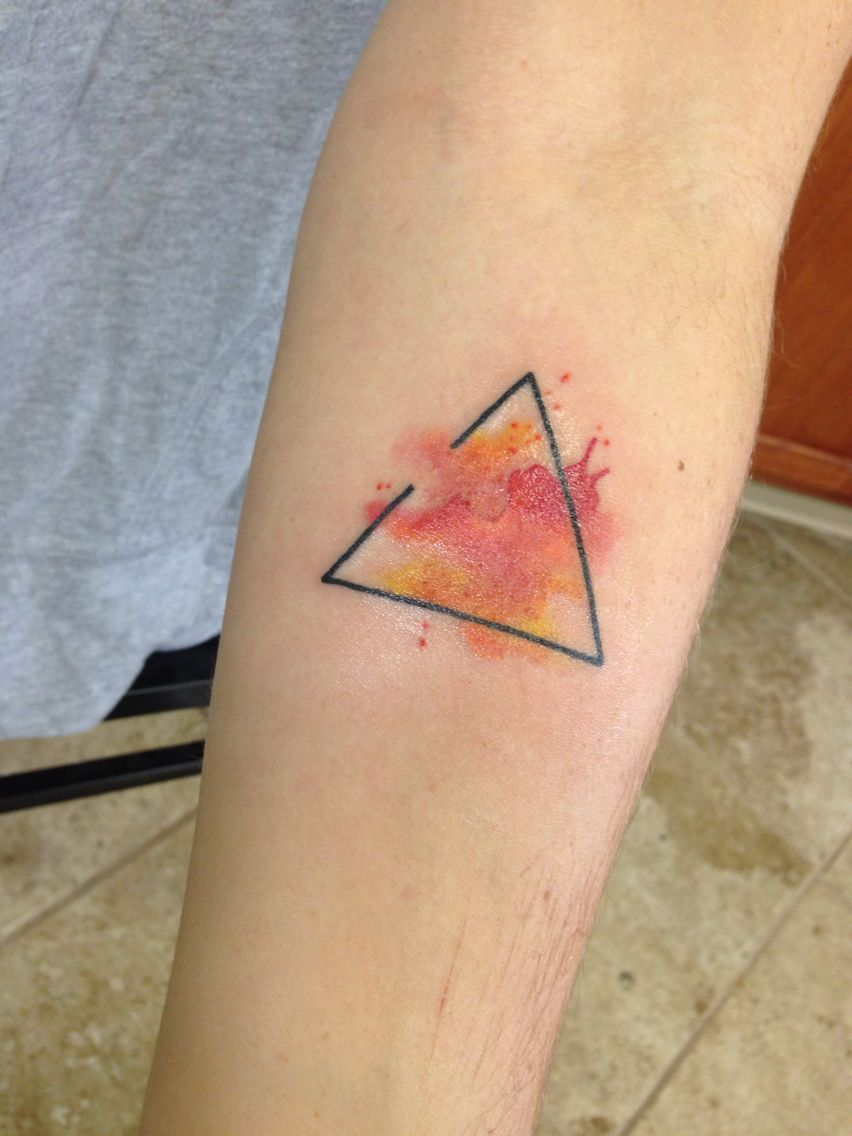 852x1136 Pin By Ariel Provasoli On Skin Ink Tattoo, Triangle