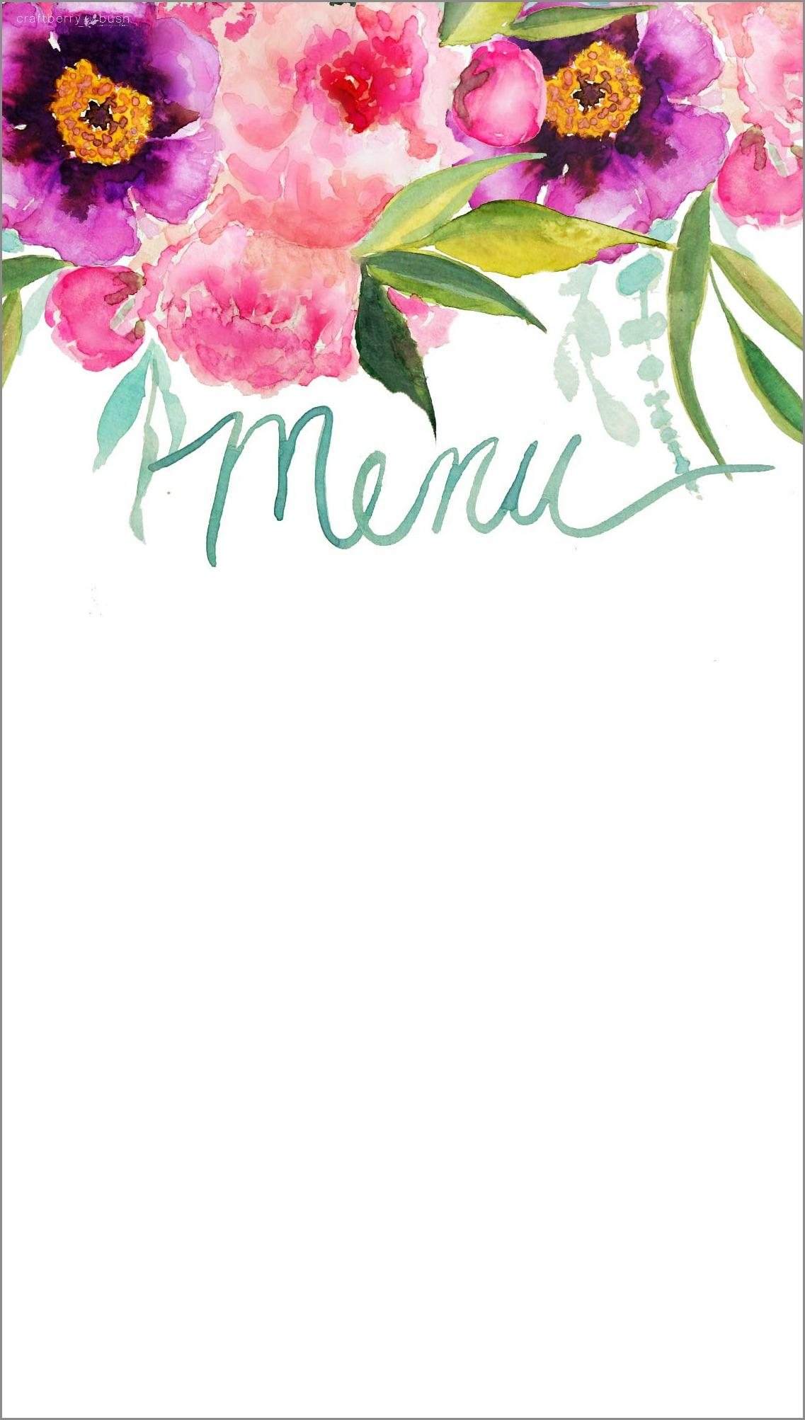 Free Printable Flower Border Templates Flowers Healthy
