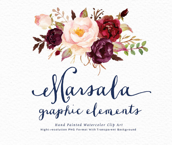 The Best Free Marsala Watercolor Images Download From 26