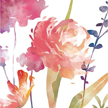 425x425 Cypress Home Boho Watercolor Floral Paper Luncheon