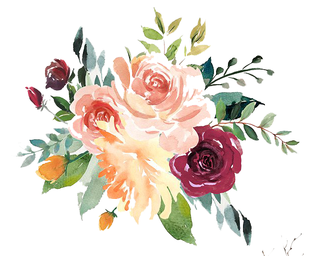 Watercolor Flowers Png Vector Psd And Clipart With: Watercolor Floral Png At GetDrawings