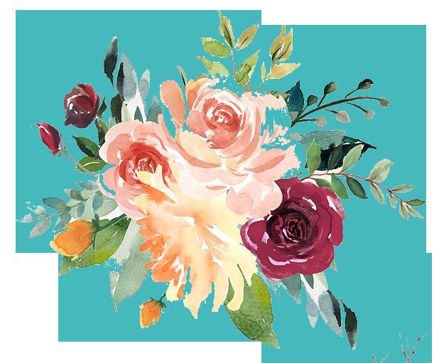Watercolor Floral Png at GetDrawings   Free download