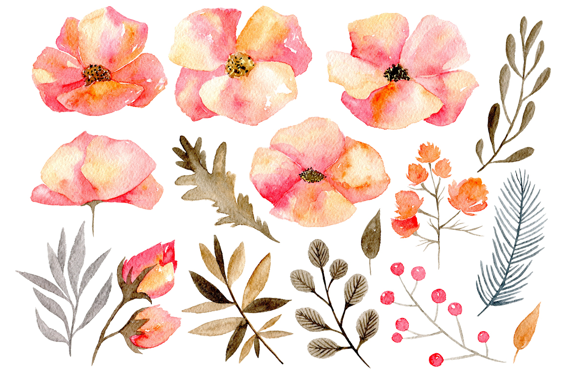 Watercolor Floral Png at GetDrawings com | Free for personal