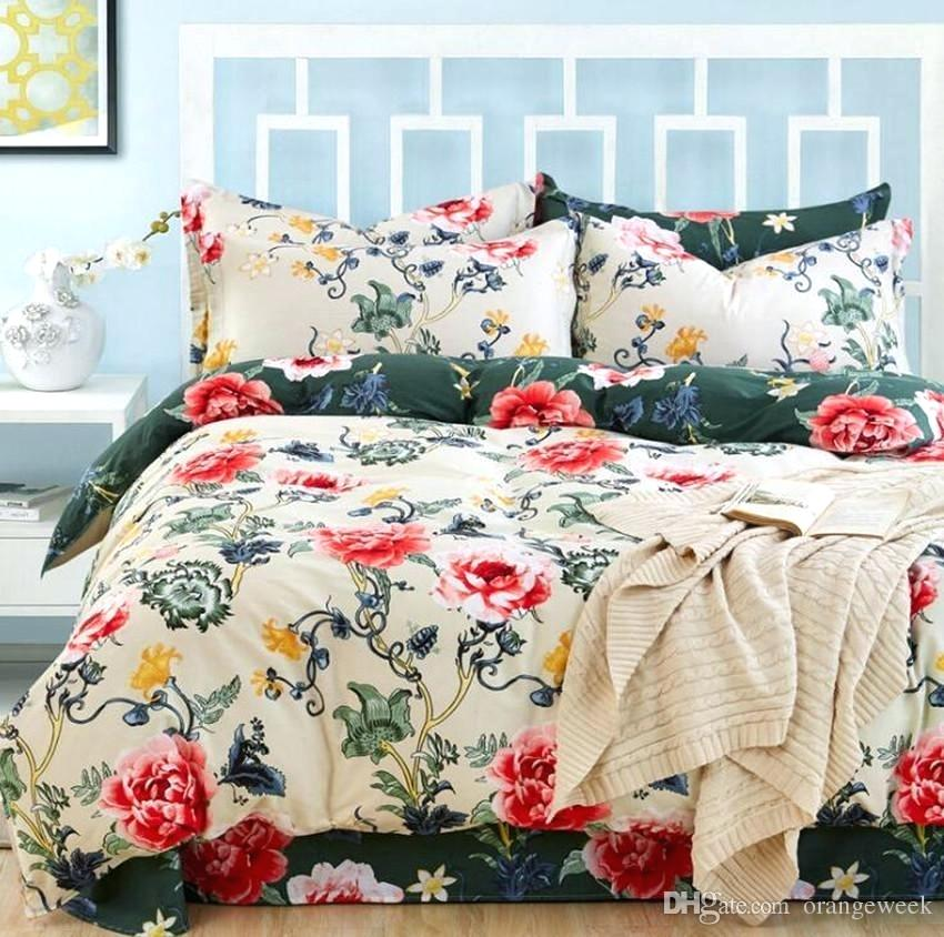 850x844 Detail Watercolor Bed Sheets M6312360 Queen Size Floral Comforter