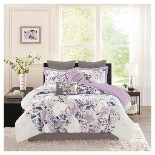 520x520 Floral Queen Comforter Sets Printed Set Xhilaration Target 8 15