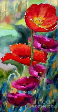 Watercolor Flower Paintings For Sale