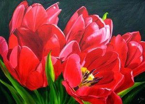 300x216 Watercolor Paintings By Doris Joa Watercolor Flower Painting