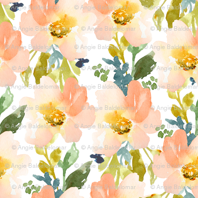 Watercolor Flower Pattern at GetDrawings com | Free for personal use