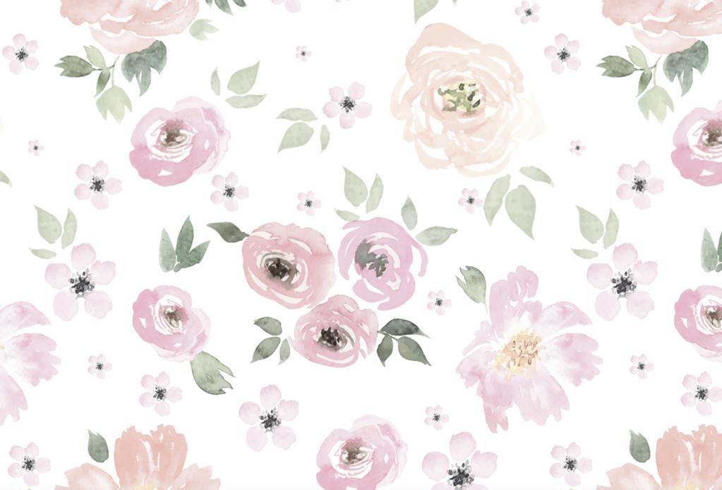 Watercolor Flower Wallpaper At Getdrawings Free Download