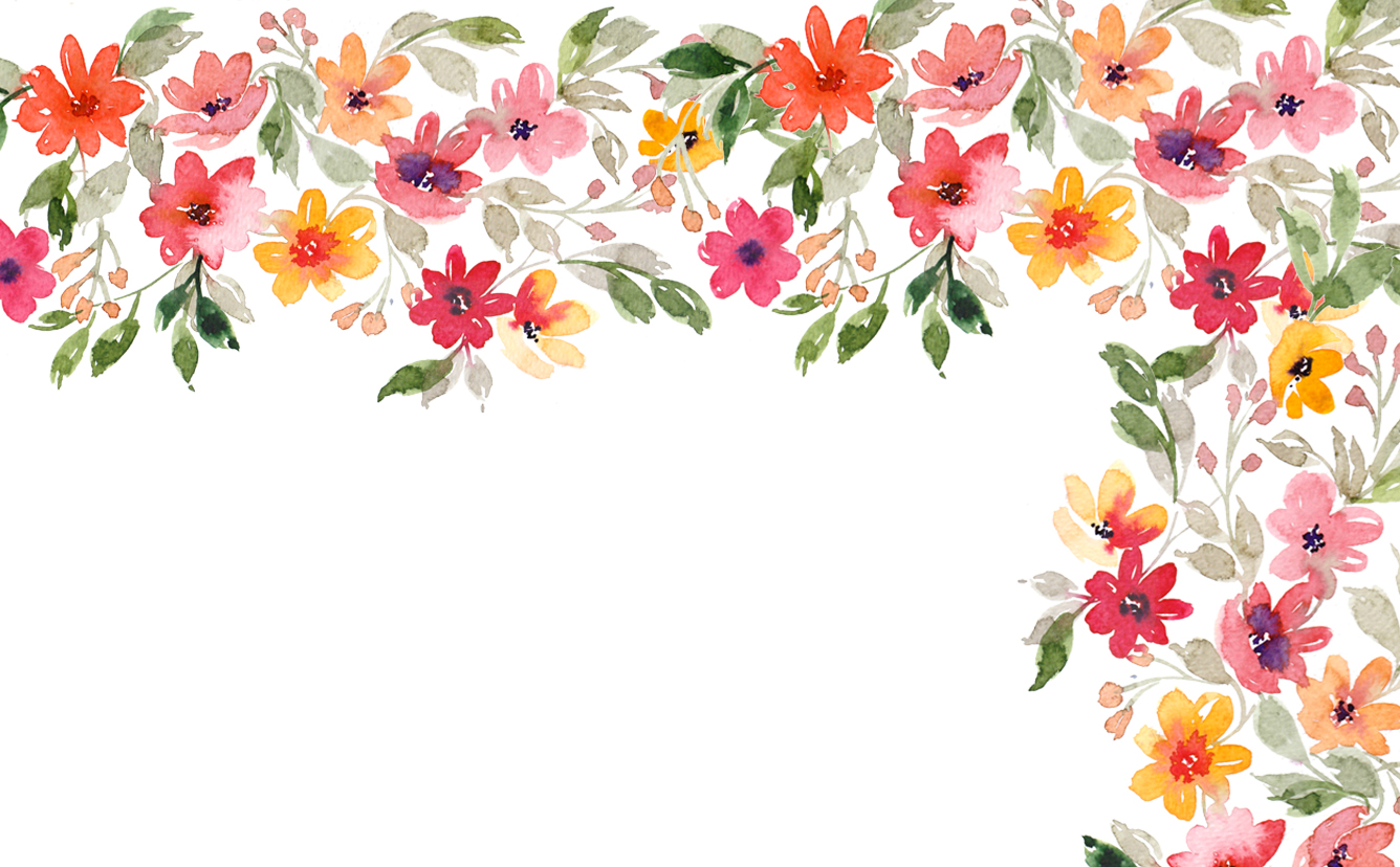 Watercolor Flower Wallpaper At Getdrawings Free Download