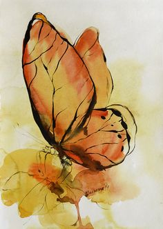 236x332 Ideia! Watercolor Watercolor, Butterfly And Paintings