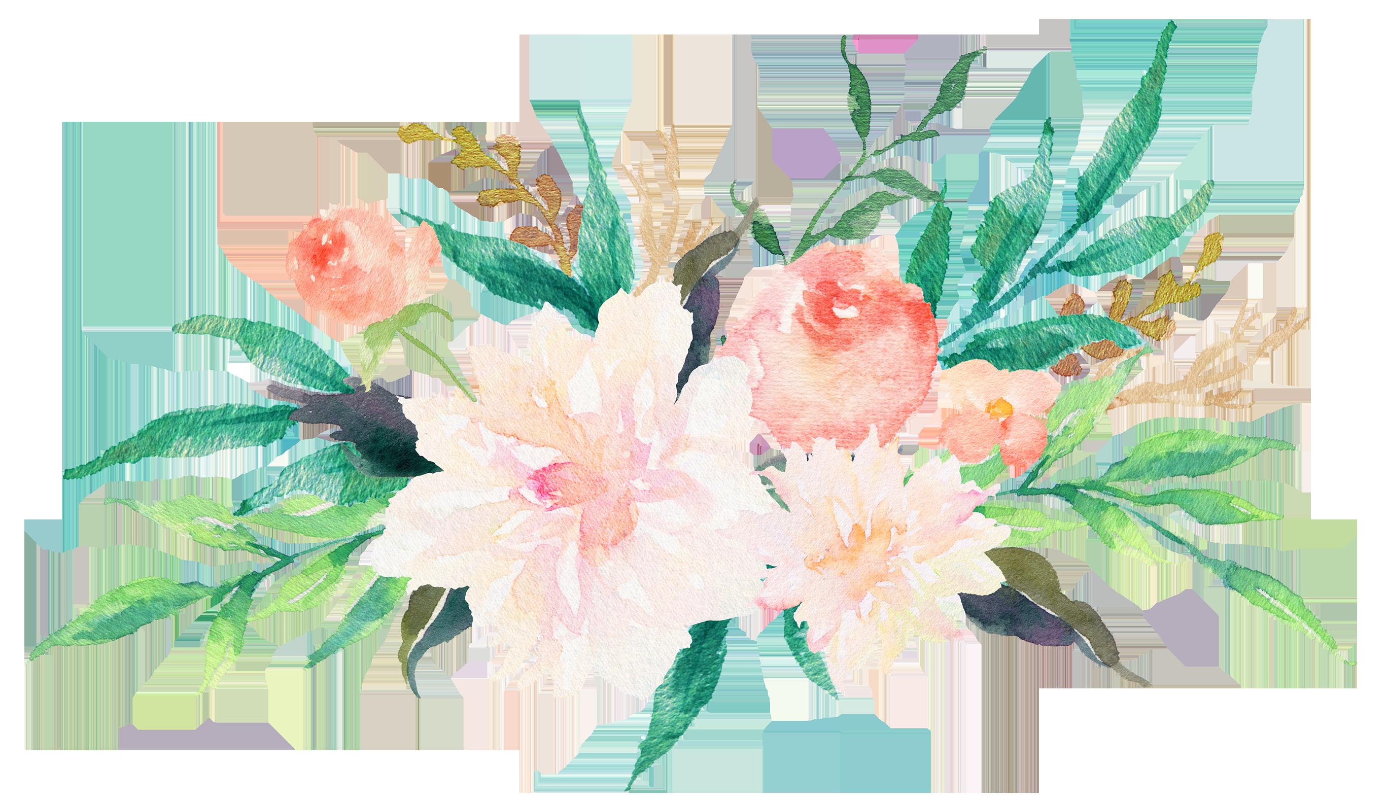 Watercolor Flowers Png Free at GetDrawings   Free download