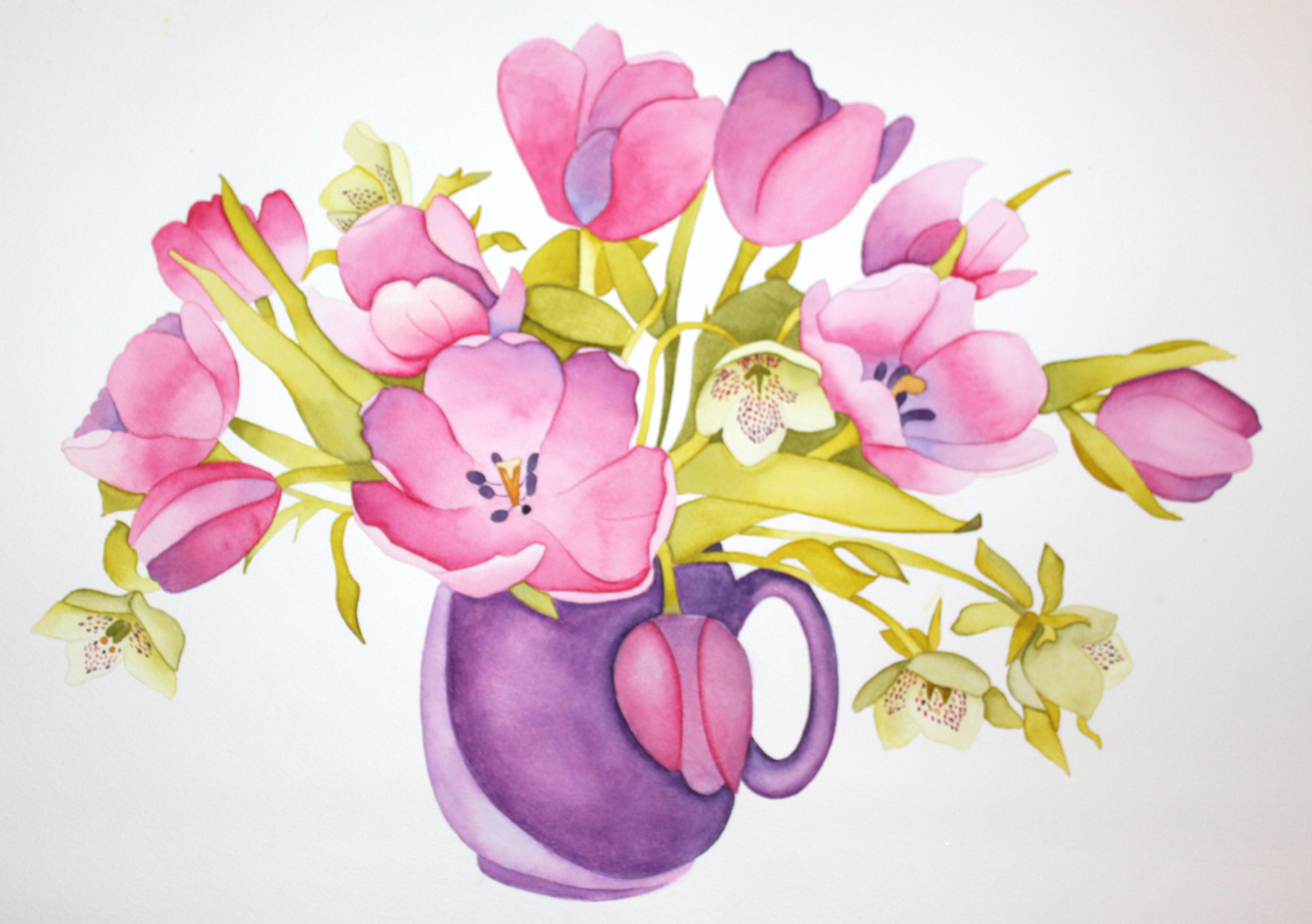 Watercolor Flowers Tumblr